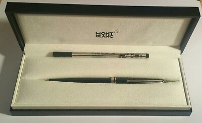 Mont blanc Rollerball Pen Black Genuine Cruise Collection New