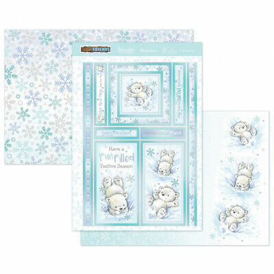 "Hunkydory Kit - "" Polar Bear Pals  """