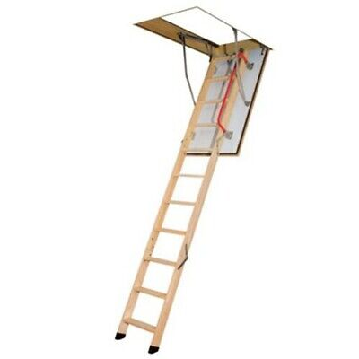 Fakro Timber Loft Ladder With Hatch & Frame 550mm x 1110mm