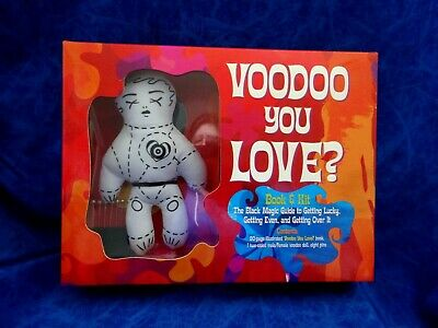VOODOO DOLL KIT & BOOK.GETTING LUCKY,GETTING EVEN,GETTING OVER IT by AMY HELMES