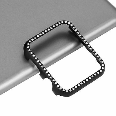 Bling Bumper Protective Case for Apple Watch Series 4 40/44 Aluminum Metal Cover