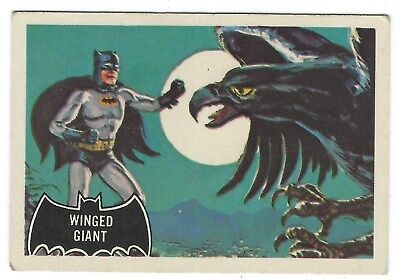 Vintage Batman Trading Card 52 Of 56 Winged Giant A & BC 1966 Good Condition