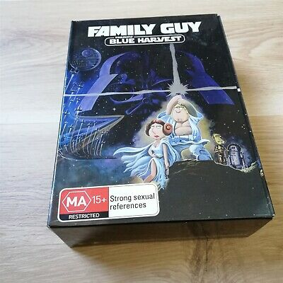 x1 Family Guy Blue Harvest Star Wars collectors 3D edition