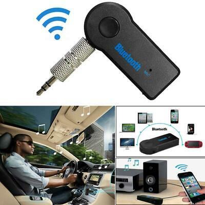 Bluetooth 3.5mm Phone AUX Audio MP3 Car Stereo Music Receiver Adapter with Mic