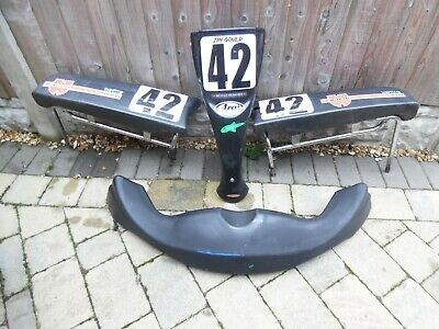 Go kart bodywork set with all bars needed / Go kart