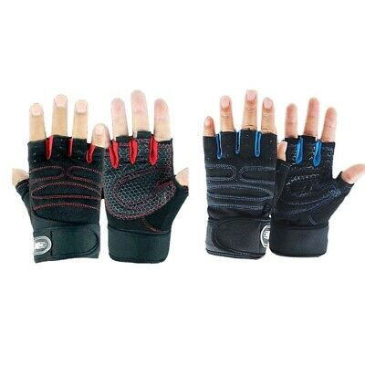 Best Weight Lifting Gloves Gym Fitness Bodybuilding Workout Training Strap Lizzj