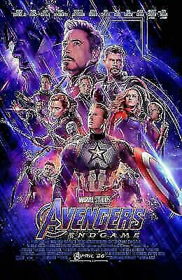 Avengers: Endgame (Blu-ray 2019) Like New w/ Slipcover Bilingual without digital
