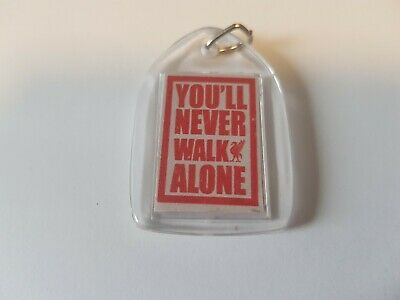 Liverpool Fc Keyring double-sided You'll Never Walk Alone