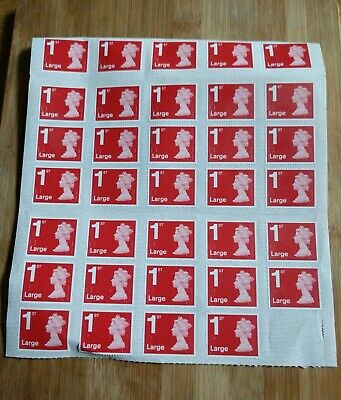 Large Letter First Class Stamps - New/Unused