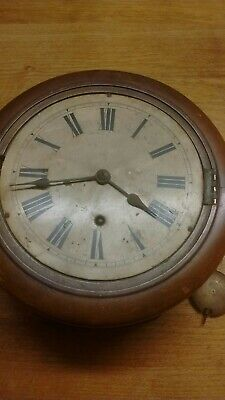 L@@K Antique Winterhalder & Hofmeir 1850-1933 Wall Clock Black Forest Craftsmen