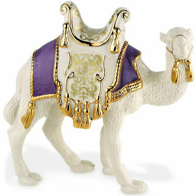 New Lenox First Blessing Nativity Standing Camel Christmas Retired New in Box