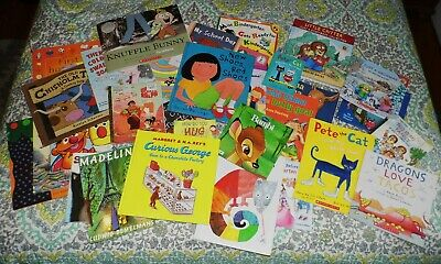 Lot of 53 Childrens Pre School Books Little Critter Pete the Cat Dr Seuss NICE!