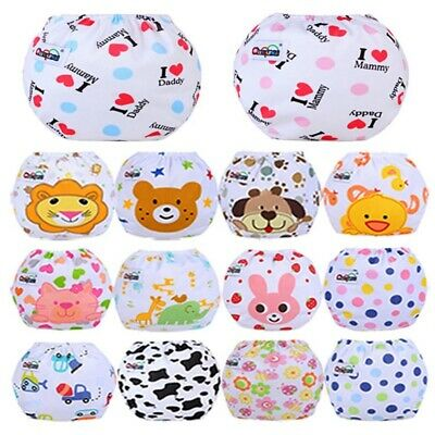 Cloth Diapers lot Nappies Adjustable Reusable For Baby Suitable for Girl Lizzj