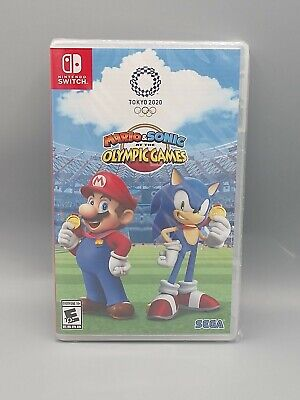 Preorder Mario & Sonic at the Olympic Games Tokyo 2020 Nintendo Switch Lite NSW