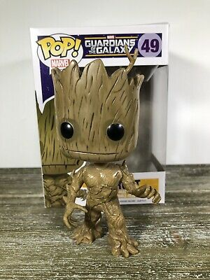 Funko POP! Marvel Comics Guardians of The Galaxy Groot #49