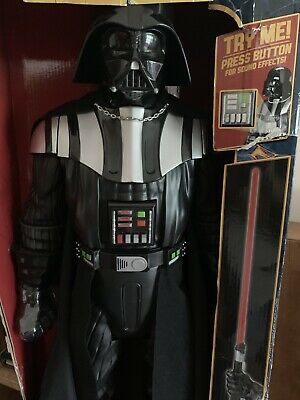 """Darth Vader Deluxe Figure 31"""" With Lightsaber & Sound Effects"""