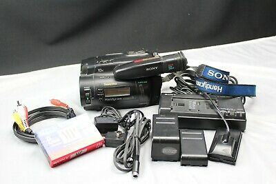Sony Handycam CCD-TR91 Stereo 8mm Video8 Camcorder VCR Player for Video Transfer