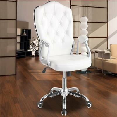 Office Chair Executive Racing Gaming Swivel Flannelette Sport Computer Desk