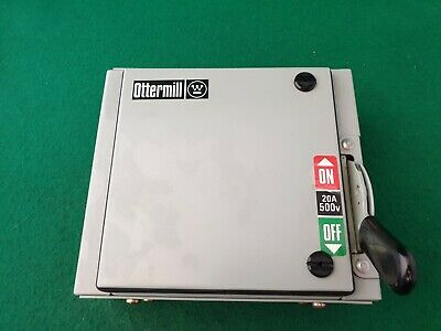 Ottermill 20 Amp 2 Pole Switch Disconnector Metal Clad