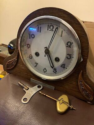 Antique Mauthe Clock With Key-pendulum Clearance Find