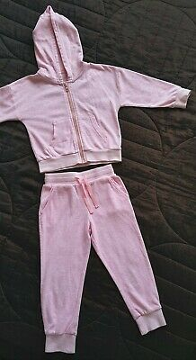 Girls Next Pink Tracksuit 3 Years