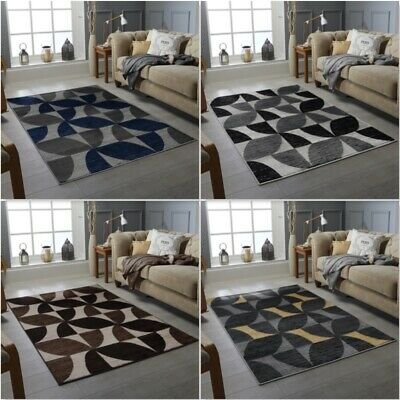 Modern Design Bedroom Carpet Small Extra Large Soft Pile Flowers Pattern Rugs