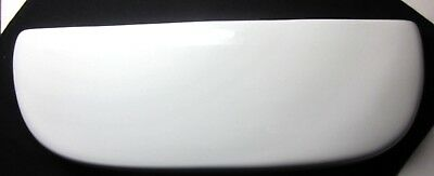 "White Toilet Tank Cover Lid 1572 7205 18-5/8"" X 6-7/8"" 201206083971"