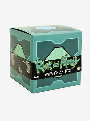Funko Pop - Rick & Morty - MR. MEESEEK'S MYSTERY BOX - Hot Topic Exclusive