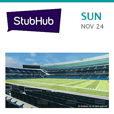 New York Giants at Chicago Bears Tickets - Chicago