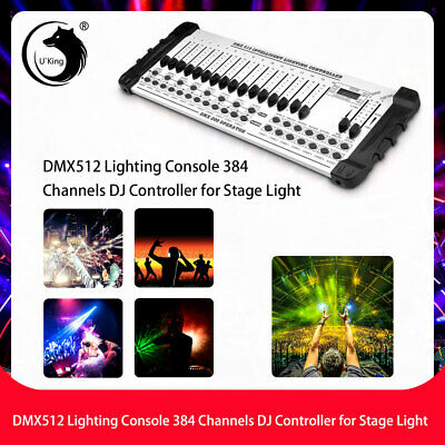 U`King DMX512 Control Console White Controller for Stage Light Disco Club Show