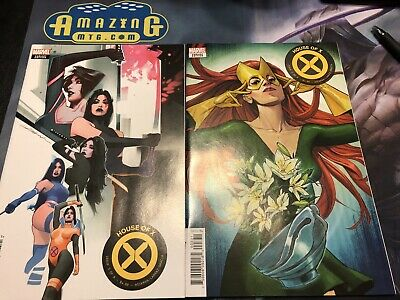 House of X 3 - Dekal Character Decades + Pichelli Flower Variants - Marvel 2019