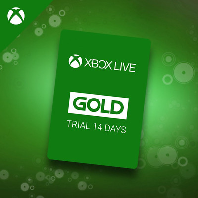 INSTANT Delivery XBOX LIVE 14 Day GOLD Trial Membership Code - 14 Days