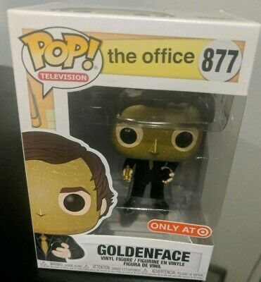 Funko Pop! Jim Halpert as Goldenface #877 - The Office - Target Exclusive