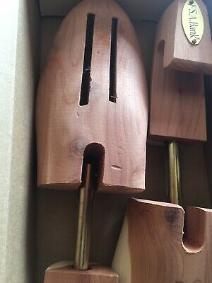 New JoS A Bank Aromatic Cedar Shoe Trees XL AU11 to AU13 RRP$39+ Free Ship