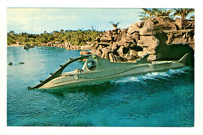 Postcard WALT DISNEY WORLD 20,000 Leagues Under The Sea Nautilus Voyage G