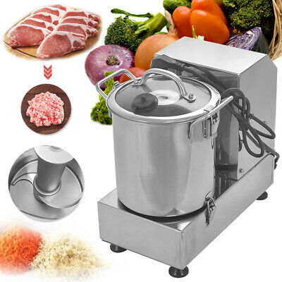 6L Food Cutting Machine Commercial Food Processor Vegetable Fruit Cutter Machine