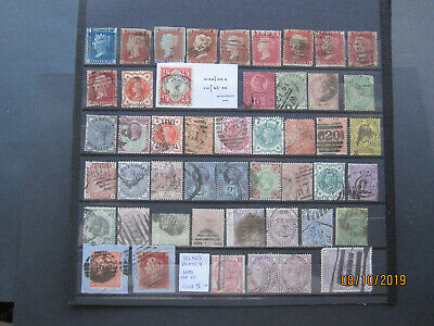 Gb Stamps - Queen Victoria - General Used Collection