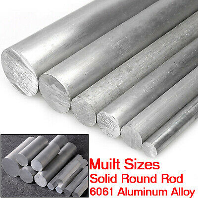 6061 Aluminum Solid Lathe Round Rod Alloy Metal Bar Dia 45mm-200mm Select Size