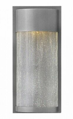 Hinkley Lighting-1340HE-Shelter - 13 16W 1 LED Small Outdoor Wall
