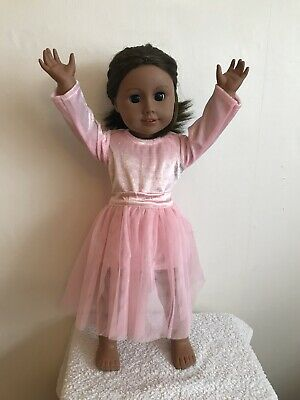 """18"""" Inch Doll Girl Pink Ballet Outfit American Girl Our Generation"""