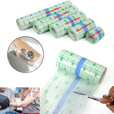 Protective Waterproof Tattoo AfterCare Film Tattoo Bandage Roll UK