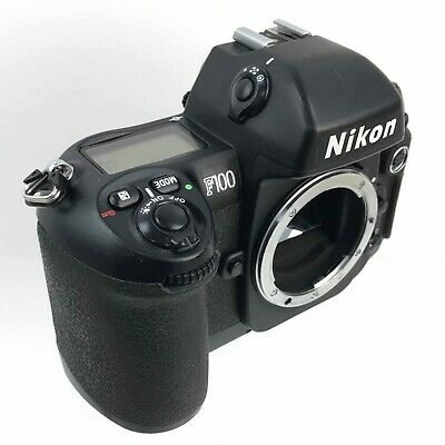 NIKON Black F100 SLR Camera Body Only Vintage Collectable Boxed TH281065