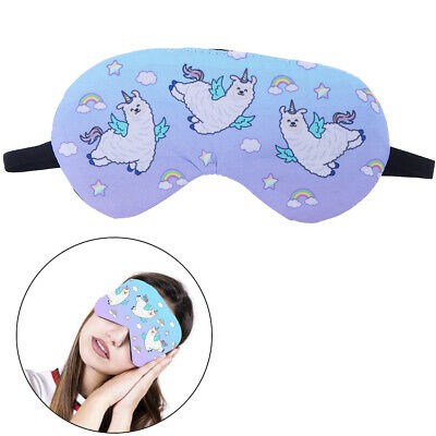 Cute Eye Mask Shade Cover Rest Sleep Eyepatch Blindfold Shield Sleeping Aid XM