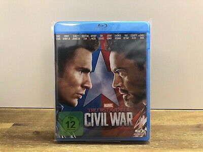 Marvel - The First Avenger - Civil War Blu-ray
