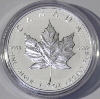 Pride of Two Nations 1oz Silver 2019 Canada  Limited Edition Modified Proof Coin