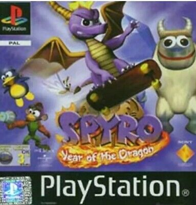 Spyro: Year of the Dragon (Sony PlayStation 1, 2000) DISC ONLY EXCELLENT