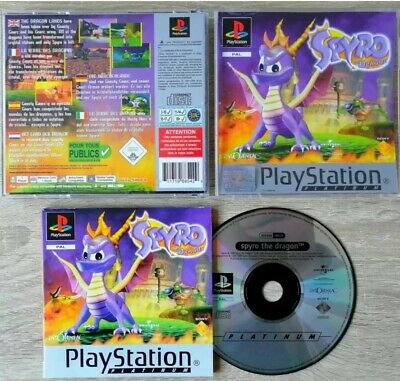 RARE. Spyro: The Dragon (Sony PlayStation 1, 1998) DISC ONLY EXCELLENT CONDITION