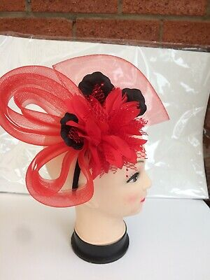 Red And Black Facinator £14.99