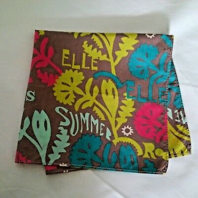 'Elle' Girls Cotton Square Bandana Scarf