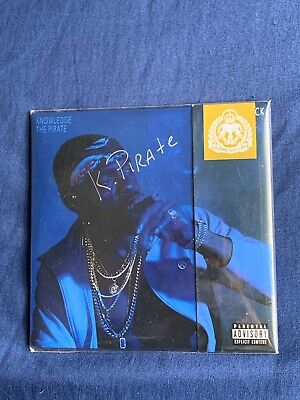 Knowledge the pirate - flintlock CD SIGNED SEAL GRISELDA RECORDS BENNY Roc Marci